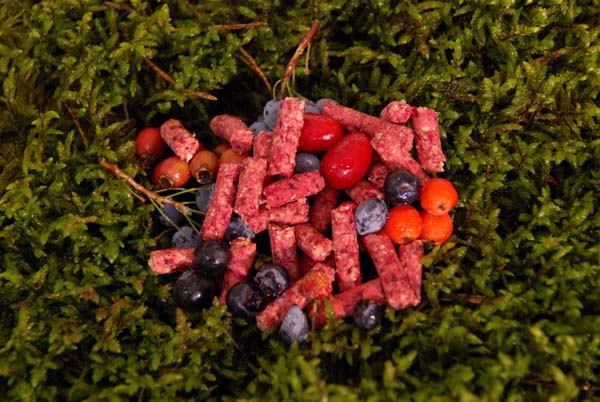 03002 Pellet Red Berry